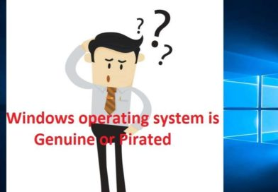 Is your windows operating system is genuine?